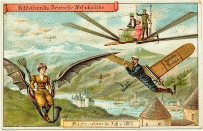 Circa 1900 Postcards Show the Year 2000