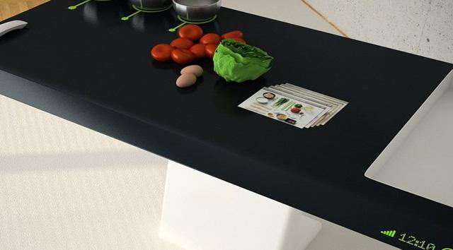 Futuristic Kitchen Concept for 2025