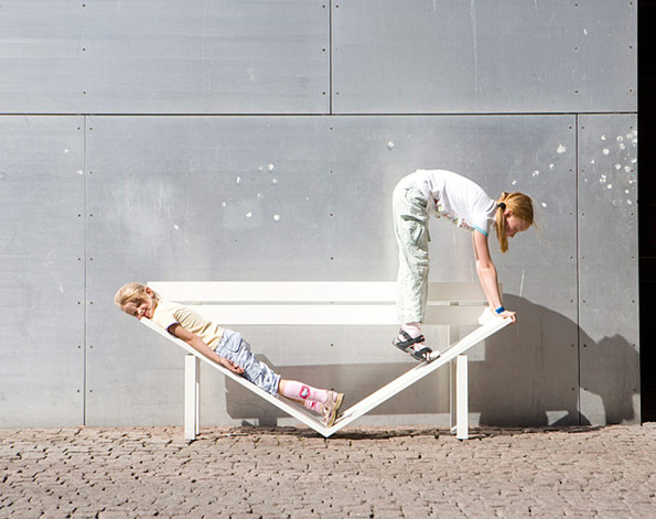 Jeppe Hein social benches