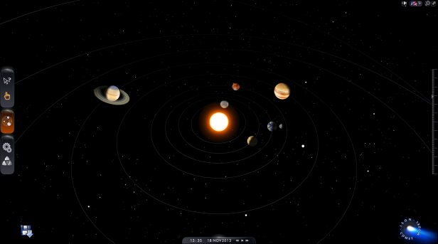 Our Interactive Solar System