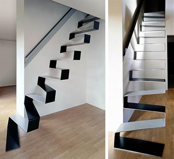 These unusual stairs will make you think