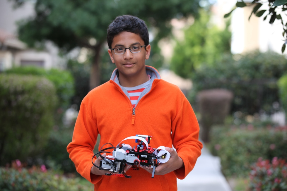 13 Year Old Shubham Banerjee has Created a Revolutionary Brail Printer from Legos and Now Intel is Investing in his Company
